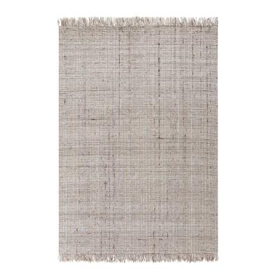 8'x10' Sallisaw Jute/Wool Rug Tan - Anji Mountain