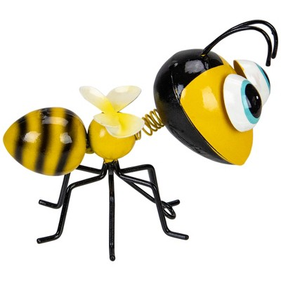"Napco 5.5"" Yellow and Black Table or Wall Mountable Bumblebee"