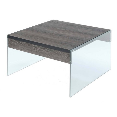 Soho Square Coffee Table Weathered Gray Breighton Home Target