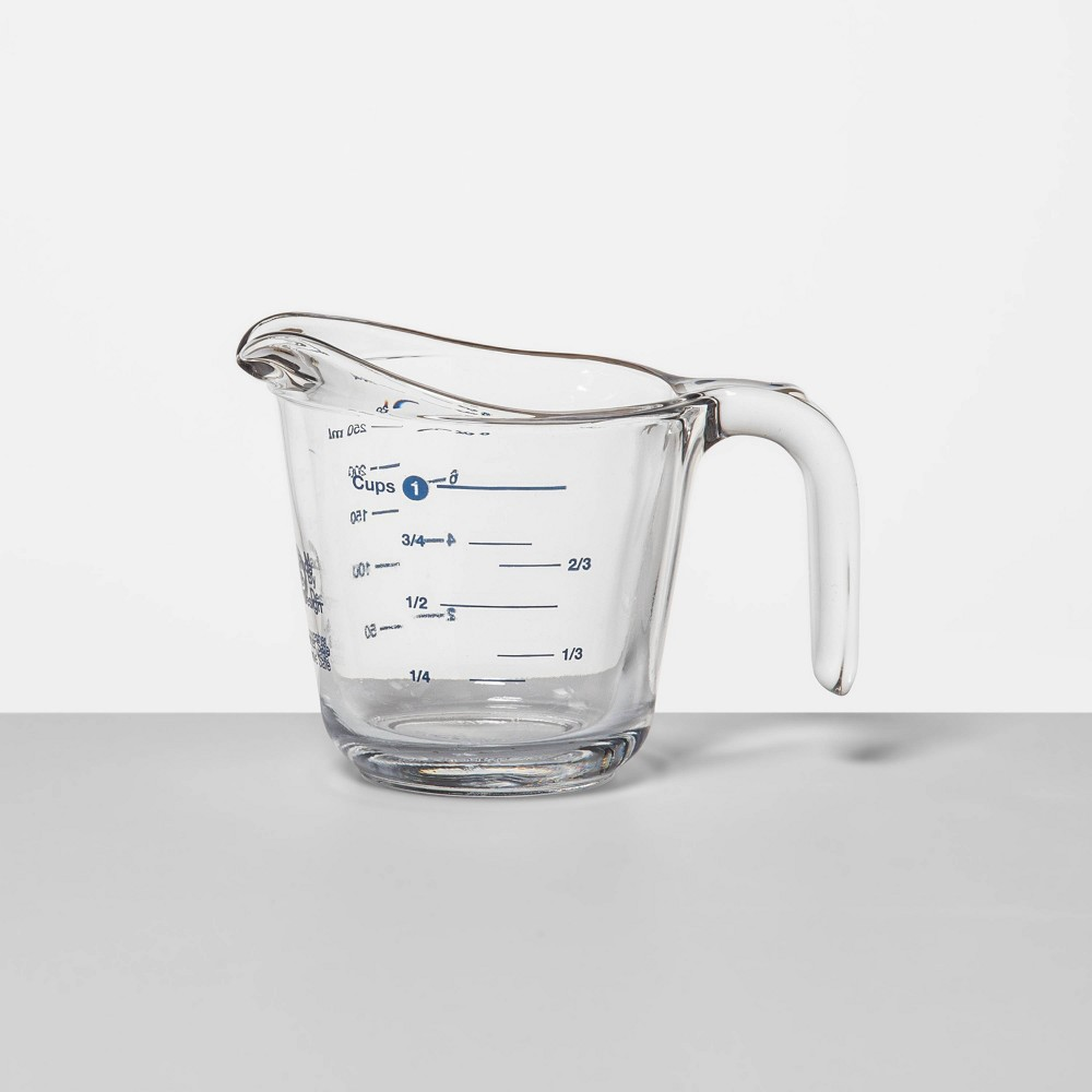 Image of 1 Cup Glass Measuring Cup - Made By Design , Clear