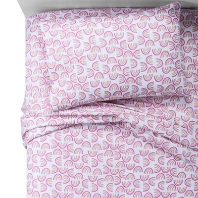Rainbows 100% Cotton Sheet Set (Toddler)- Pillowfort™