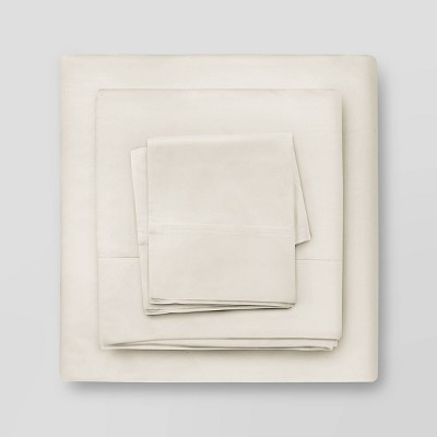 300 Thread Count 100% Cotton Peach Percale Sheet Set - Neubella