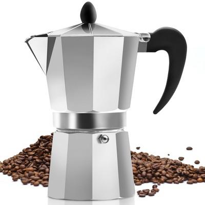 Zulay Kitchen Classic Stovetop Italian Style Espresso Maker - 3 Espresso Cups