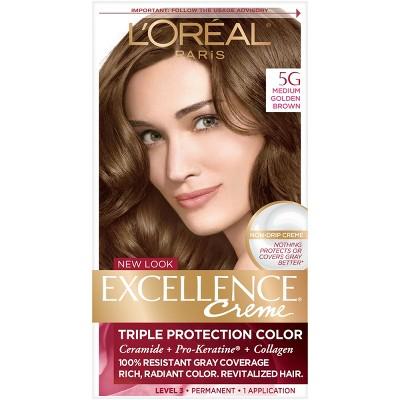 L Oreal Paris Excellence Triple Protection Permanent Hair Color 8rb Reddish Blonde 1 Kit Target