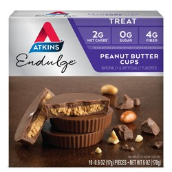 Atkins Endulge Treats - Peanut Butter Cup - 10pk