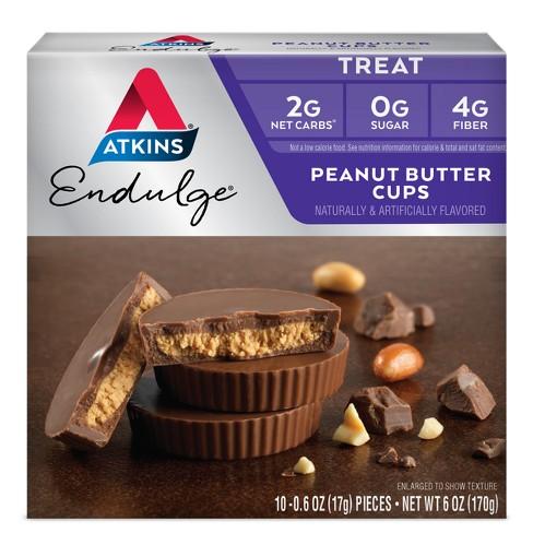 Atkins Endulge Treats - Peanut Butter Cup - 10pk - image 1 of 2