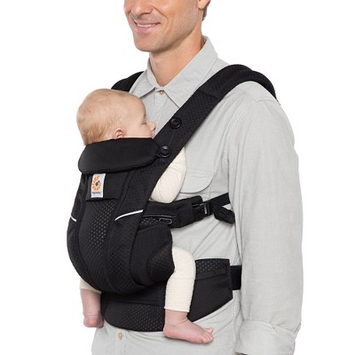 Ergobaby Omni Breeze All-in-1 Baby Carrier - Onyx Black