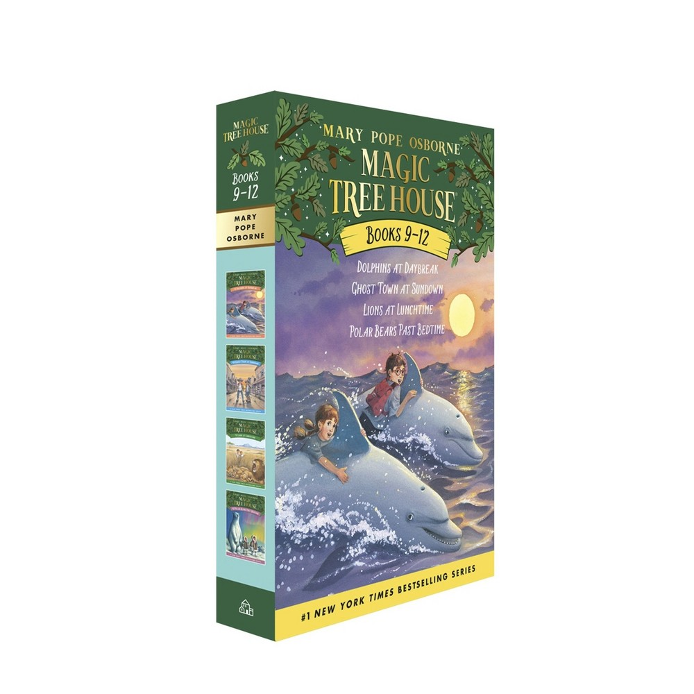 Magic Tree House Collection 3 Books 9-12 : Dolphins at Daybreak/Ghost Town at Sundown/Lions at