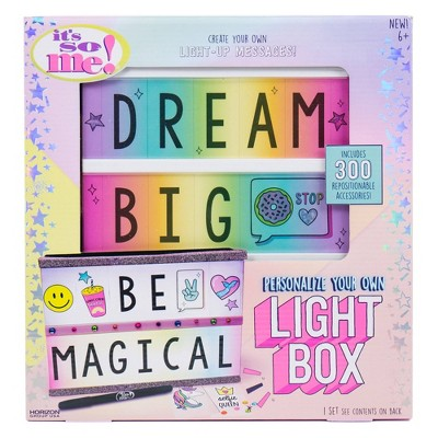 Personalize Your Own Light Box Set - It's So Me
