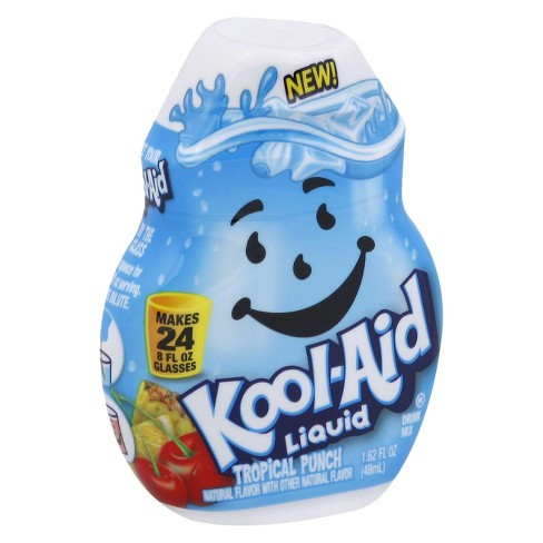 Kool-Aid Liquid Tropical Punch Drink Mix - 1.62 fl oz Bottle - image 1 of 5