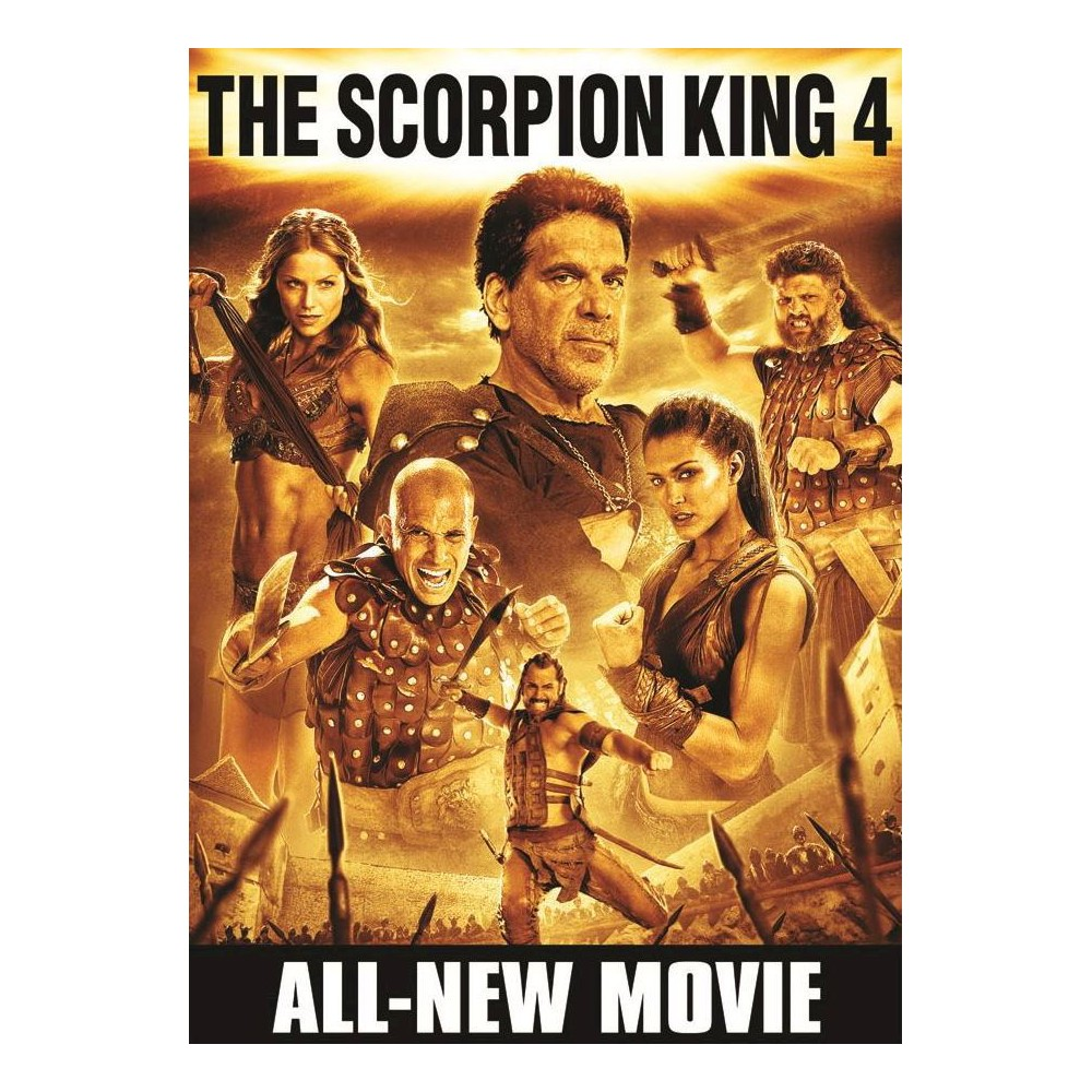 The Scorpion King 4: Quest for Power (dvd_video)