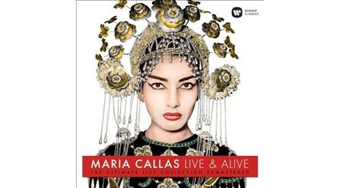 Maria Callas - Live & Alive:Ultimate Live Collection (Vinyl) - image 1 of 1