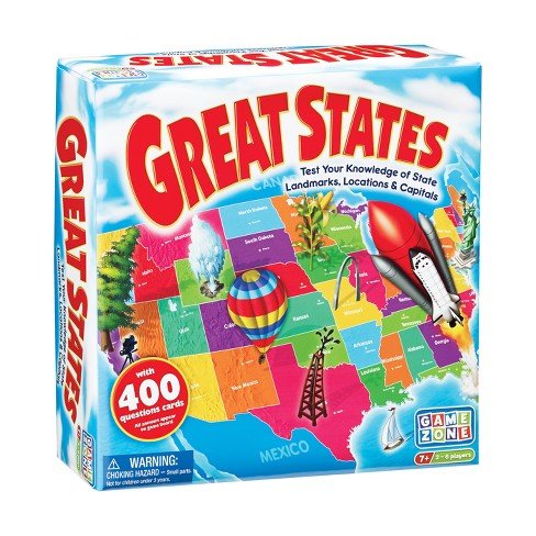 Game Zone Great States Board Game - image 1 of 3