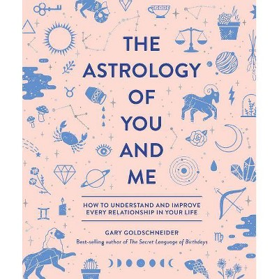 The Astrology of You and Me - by Gary Goldschneider (Hardcover)