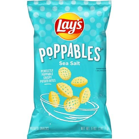 Lay's Poppables Sea Salt Potato Snacks - 5oz - image 1 of 3