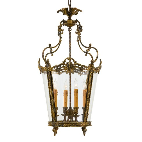 Metropolitan N851204 4 Light Lantern Pendant from the Foyer Collection - image 1 of 1