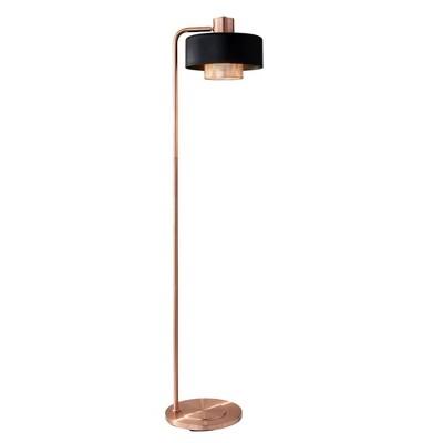 """60"""" 3-way Bradbury Floor Lamp Copper - Adesso"""