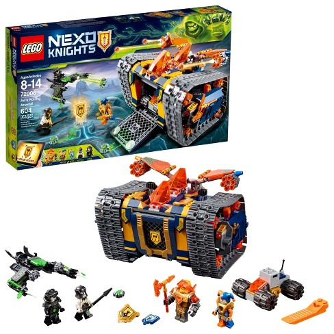 LEGO Nexo Knights Axl's Rolling Arsenal 72006 - image 1 of 6