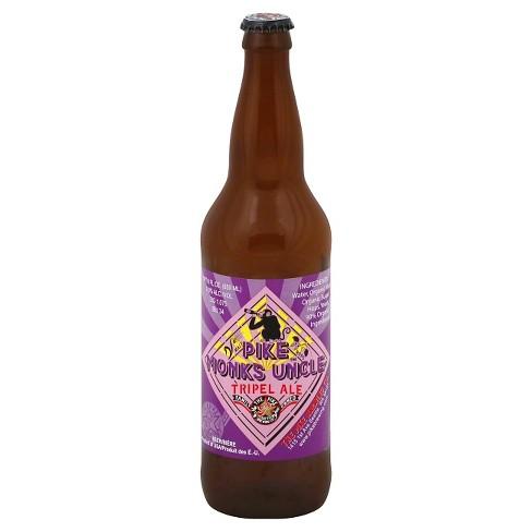 Pike Monk's Uncle Tripel Ale Beer - 22 fl oz Bottle - image 1 of 1