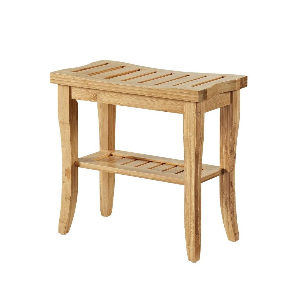 Bracken Bamboo Stool Linon