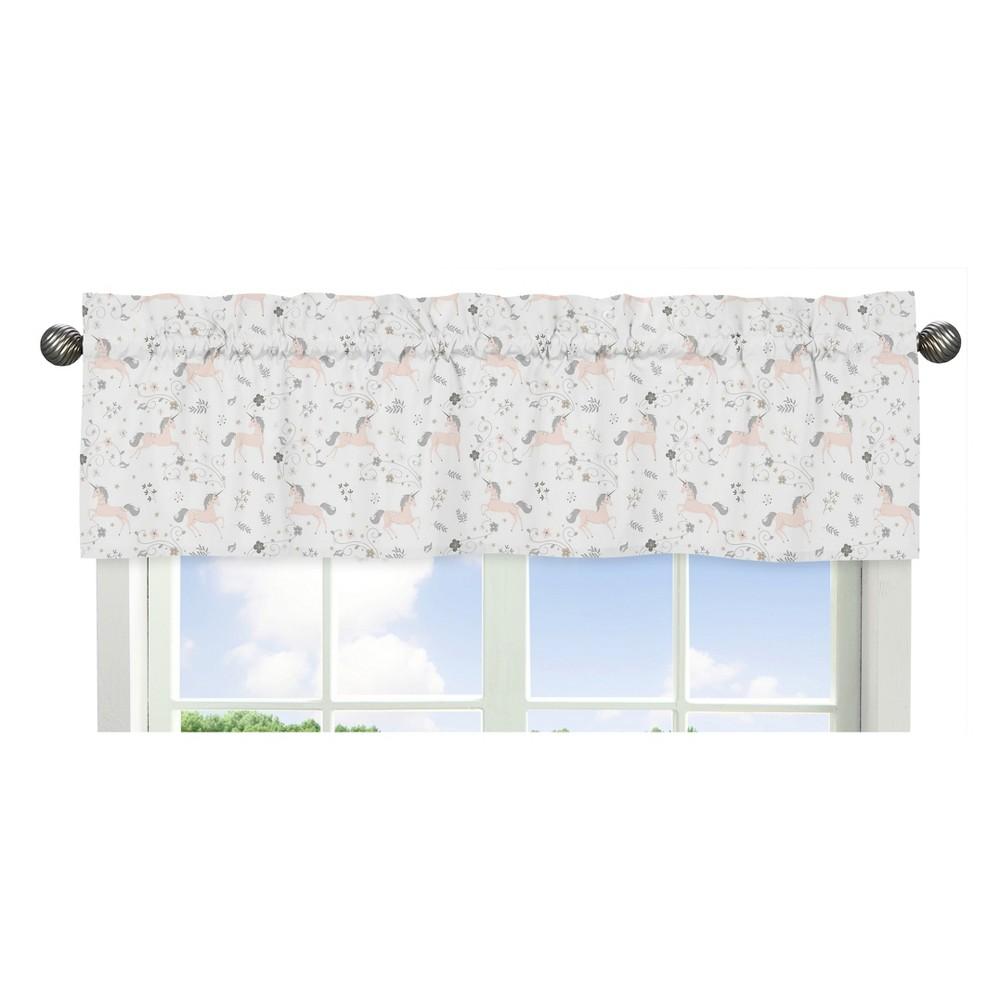 Sweet Jojo Designs Window Valance - Unicorn