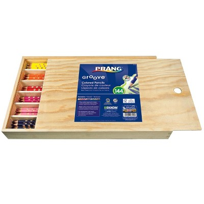 Prang Groove Color Pencils, Assorted, set of 144