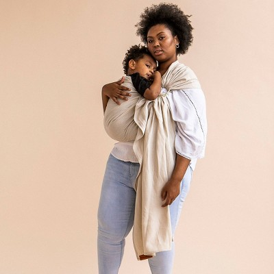 WildBird Ring Sling Baby Carrier - Sparrow/Gold Ring
