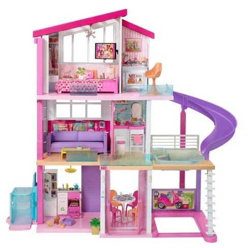 Barbie Dreamhouse Dollhouse with Wheelchair Accessible Elevator - image 1 of 4