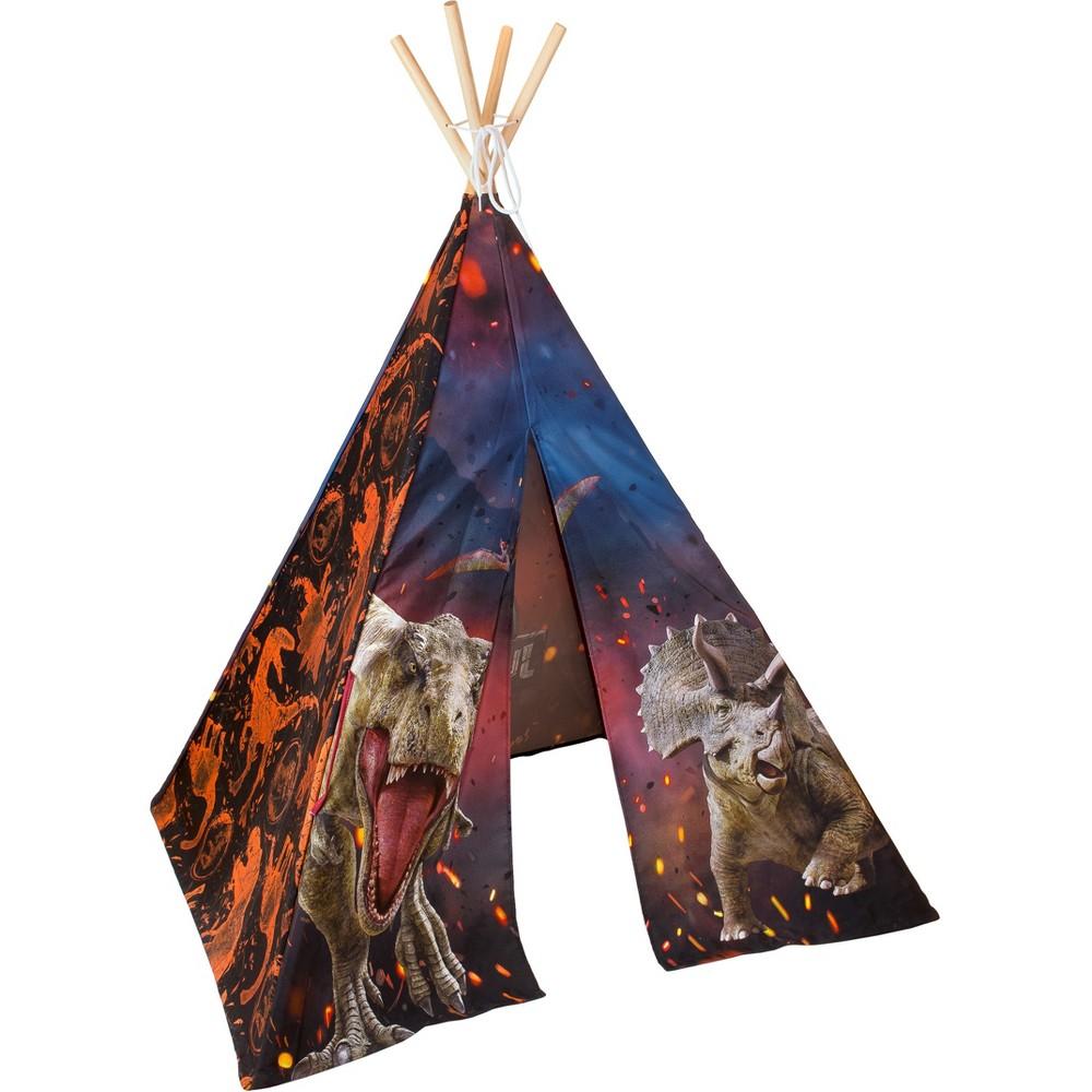 Teepee Tent Dinosaur - Jurassic World, Black