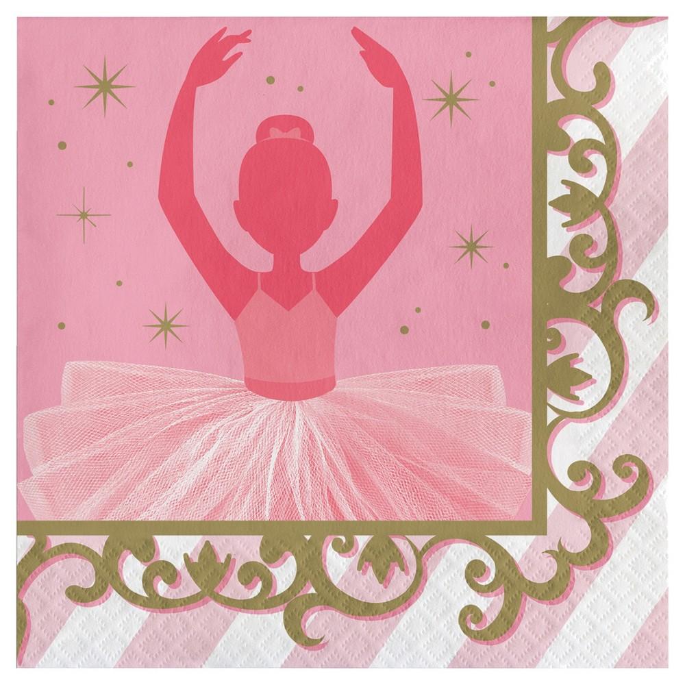 Image of 16ct Ballet Napkins, Disposable Napkins