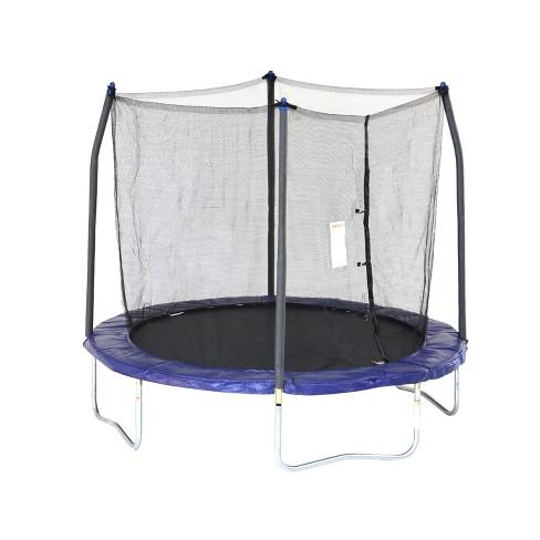 Skywalker Trampolines 8' Round Trampoline with Enclosure - Blue - image 1 of 4