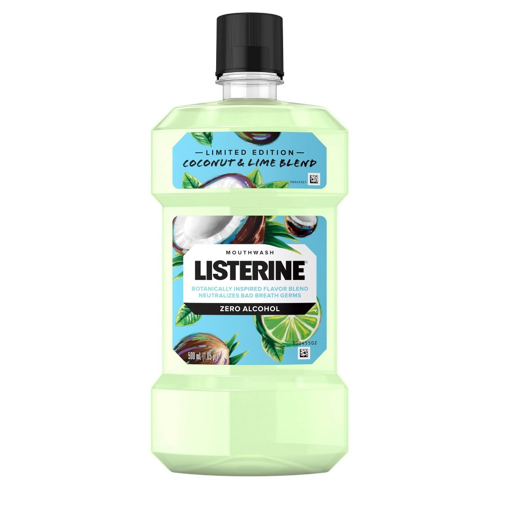 Image of Listerine Coconut Lime Splash Zero Mouthwash - 16.9 fl oz