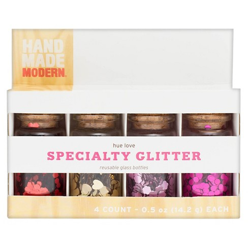 Hand Made Modern Hue Love Specialty Glitter - Multicolored - image 1 of 1