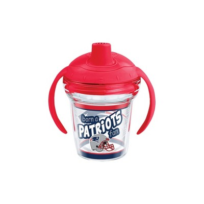 Tervis NFL New England Patriots Born A Fan 6oz Sippy Cup with Lid
