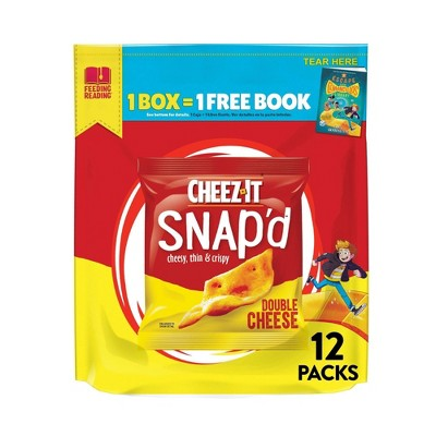Cheez-It SNAP'D Double Chz - 9oz/12ct