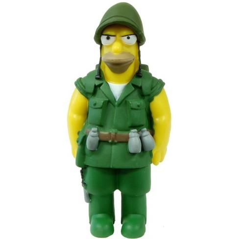 The Simpsons 20th Anniversary Figure Seasons 6-10 Fighting Abe Simpson - image 1 of 1