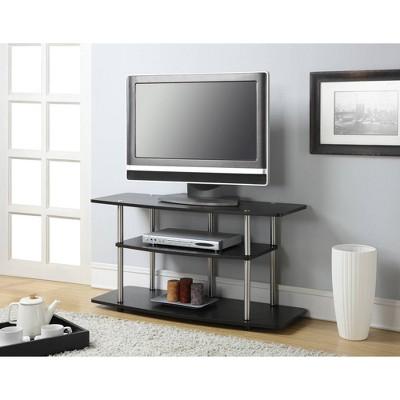 "32"" Designs2Go 3 Tier Wide TV Stands - Johar Furniture : Target"