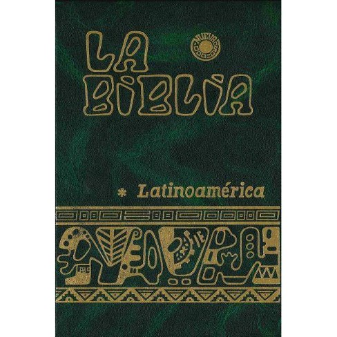 Latin American Bible - by  Edic Paulinas (Hardcover) - image 1 of 1