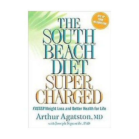 The South Beach Diet Supercharged Hardcover By Target
