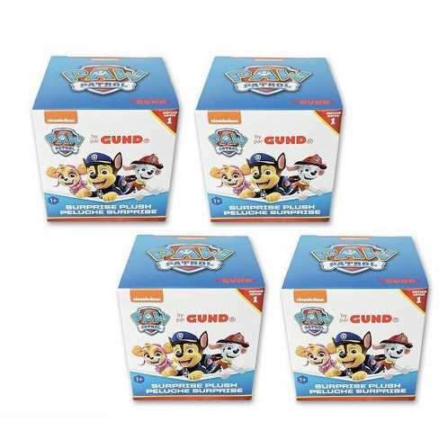 Gund - Paw Patrol Surprise Plush Blind Box Series 1 - Set of 4 - image 1 of 3