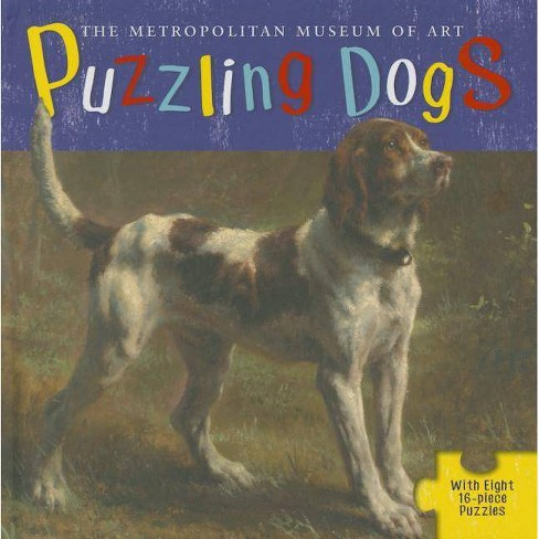 Puzzling Dogs - by  Linda Falken & The Metropolitan Museum of Art (Mixed media product) - image 1 of 1