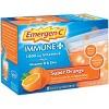 Emergen-C Immune+ Dietary Supplement Powder Drink Mix with Vitamin C - Super Orange - 30ct - image 3 of 4