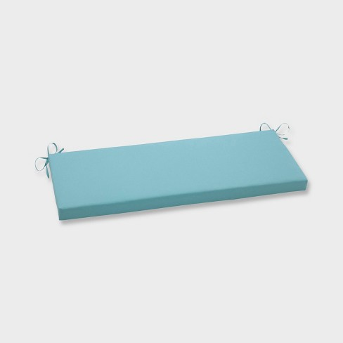Radiance Pool Outdoor Bench Cushion Blue - Pillow Perfect - image 1 of 1