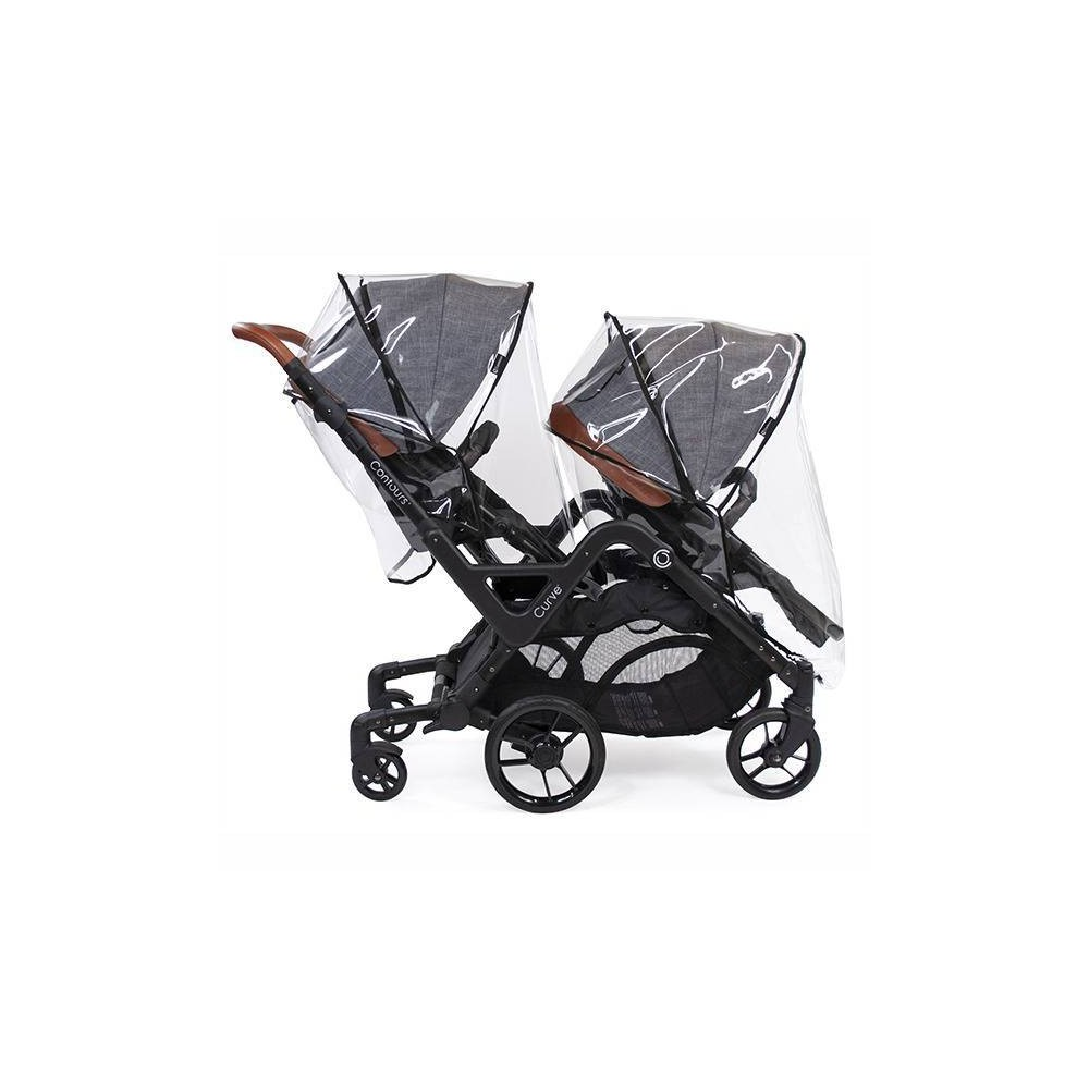 Image of Contours Weather Shield Stroller Accessory - Black