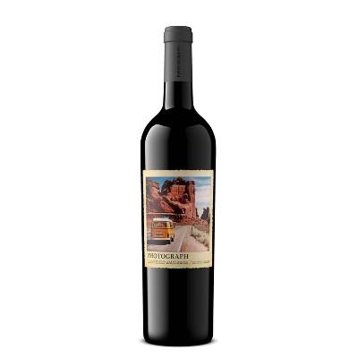 Photograph Cabernet Sauvignon Red Wine - 750ml Bottle