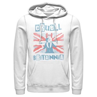 Men's Cruella Cruell Britannia Pull Over Hoodie
