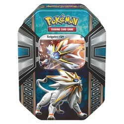 2017 Pokemon Trading Cards Legends of Alola GS Spring Tin Featuring Solgaleo