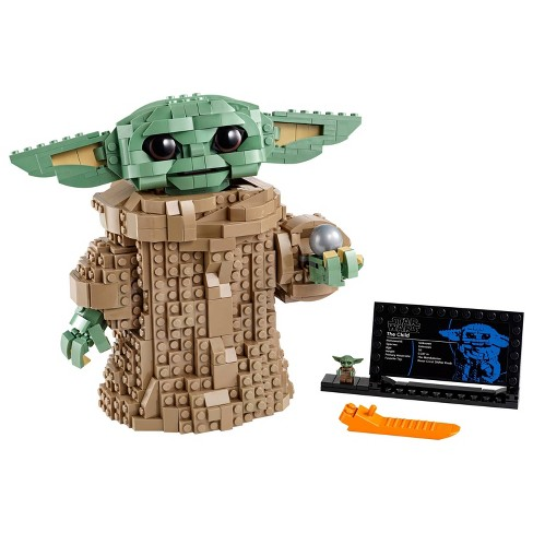 LEGO Star Wars: The Mandalorian The Child Collectible Buildable Toy 75318 - image 1 of 4