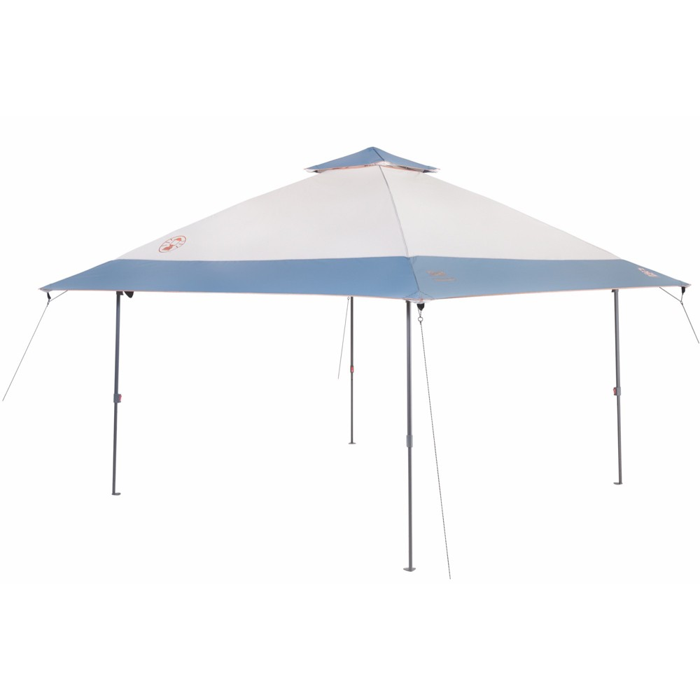 Coleman All-Night Lighted Eaved Shelter - Light Gray 13' x 13'