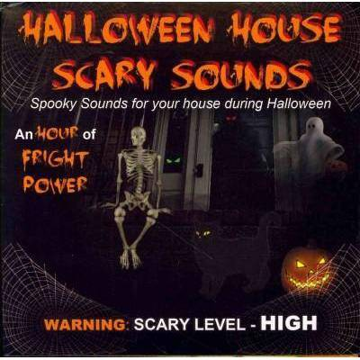 [no Artist]   Halloween House Scary Sounds (CD)